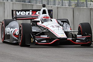 IndyCar Practice report Chevrolet Racing places five cars in top-10 during Friday Baltimore practice