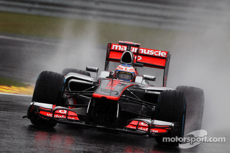 A truly brilliant pole lap by Button at Spa