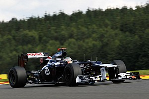 After penalty Maldonado start in 6th place on Belgian GP