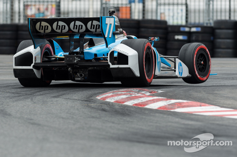 Pagenaud finishes third for Honda in wild Baltimore run