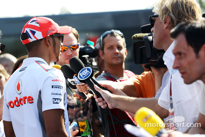 Hamilton rumours dominate in Monza paddock