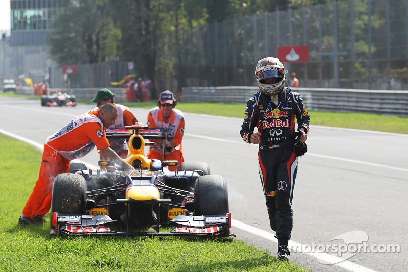 Another alternator problem hurts Vettel