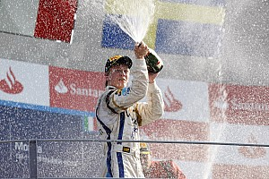 GP2 Race report Barwa Addax gets podium in Monza with Ceccoto in 2nd place