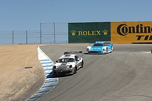 Grand-Am Race report Porsche leads GRAND-AM Monterey Sports Car Festival at Laguna Seca