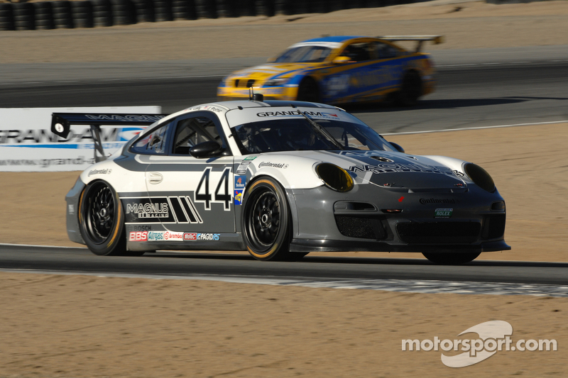 Porsche leads GRAND-AM Monterey Sports Car Festival at Laguna Seca