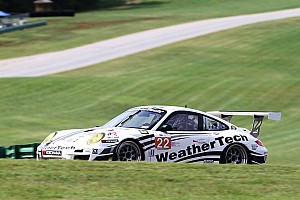 ALMS Race report AJR WeatherTech Porsche clinches ALMS GTC season championship