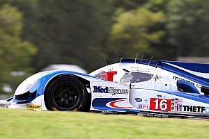 ALMS Race report Dyson Racing successfully introduced Flybrid KERs at VIR