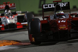 GP2 Qualifying report Singapore: Filippi and Scuderia Coloni storm to pole in night qualifying