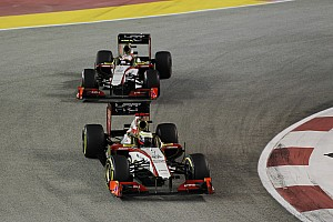 Formula 1 Race report A tough race for HRT in Singapore