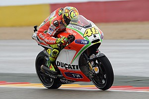 MotoGP Qualifying report Third row for Ducati Team in Aragon qualifying