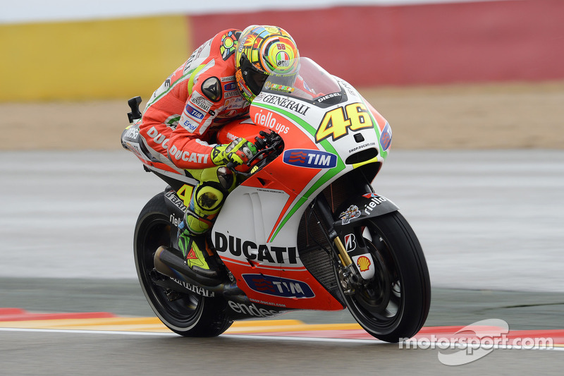 Third row for Ducati Team in Aragon qualifying