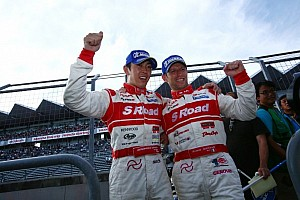 Super GT Race report Autopolis win by Yanagida and Quintarelli clinches 2012 championship