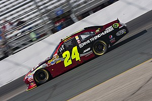NASCAR Sprint Cup Race report Gordon leads Chevrolet drivers by finishing second in the Dover 400