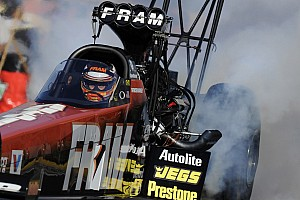 NHRA Race report Massey runner-up to teammate at Gateway