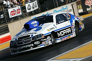 Allen Johnson and Jack Beckman lead Team Mopar Maple Grove qualifying