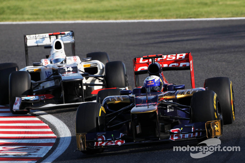 Eventful race for Toro Rosso at Suzuka circuit