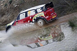 WRC Breaking news MINI will cease its works team at end of 2012