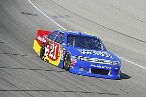 NASCAR Sprint Cup Qualifying report Bayne puts Wood Brothers Ford in the field for the Charlotte 500