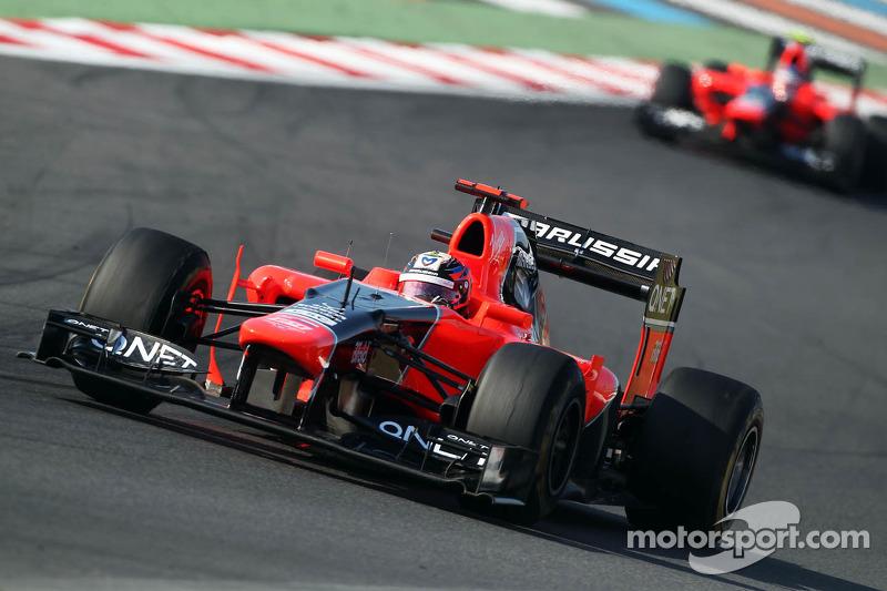 Marussia drivers will start Korean GP side by side