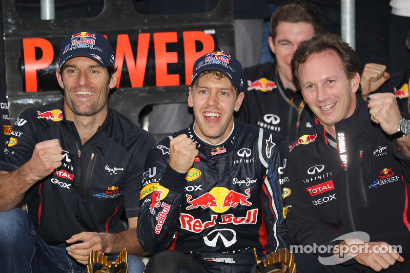Red Bull extends lead in Constructors' and Seb moves ahead in Drivers'