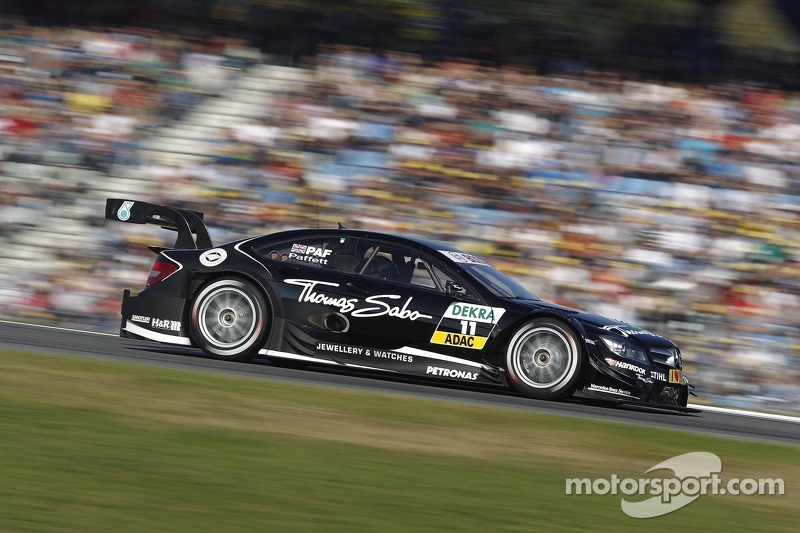 Mercedes's Paffett is 2012 DTM runner-up