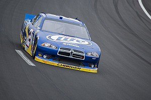 NASCAR Sprint Cup Race report Keselowski and Hornish have long day at Kansas