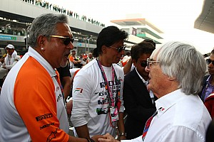 Formula 1 Breaking news Good and bad news for F1's Vijay Mallya