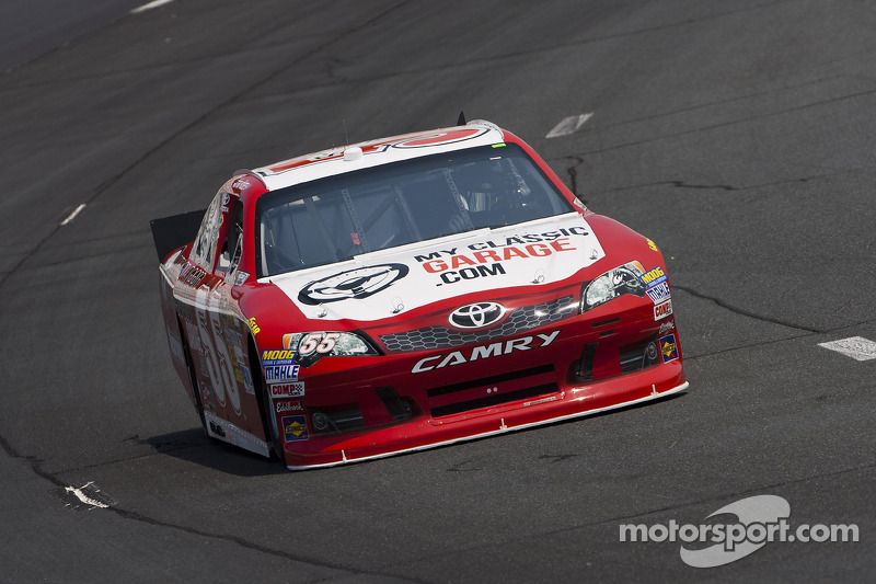 Vickers excited about Martinsville and MWR in 2013