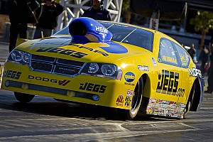 NHRA Race report Coughlin Jr. knocks out Anderson before bowing to points leader Johnson on finals