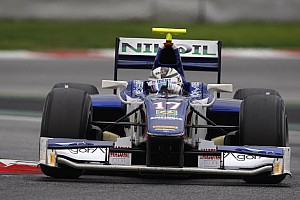 GP2 Testing report Trident Racing pleased with Barcelona post-season test