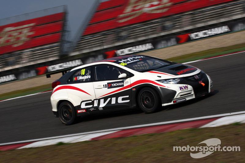 Tiago Monteiro gives Honda a 7th place in Shanghai