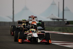 Formula 1 Race report An intense Abu Dhabi GP for HRT