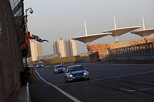 WTCC Race report Double and triple wins for Chevrolet in China