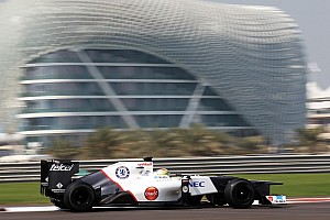 Formula 1 Testing report Frijns covered 78 laps at the Yas Marina Circuit driving a Sauber F1 car
