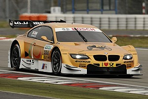 DTM Breaking news Alex Zanardi powers golden BMW M3 at Nürburgring