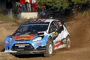 WRC Leg report Ostberg surprises with lead on opening day of Rally de Espana