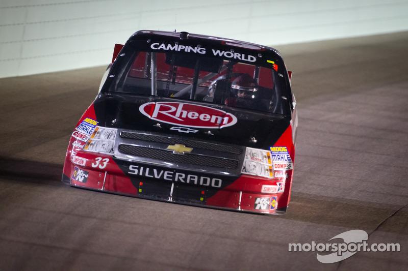 Cale Gale puts Eddie Sharp Racing Chevrolet in Victory Lane at Homestead