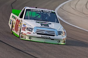 NASCAR Truck Race report Chastain finished his fourth top-ten of the 2012 season on Homestead 400