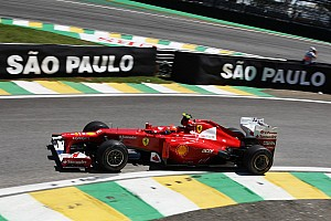 Formula 1 Qualifying report No surprises for Ferrari with qualifying results at Interlagos