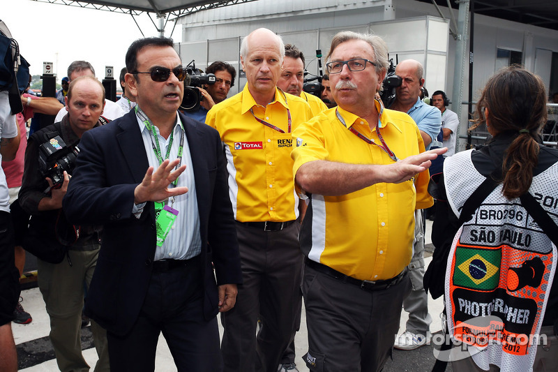 Renault to supply F1 engines to more teams - Ghosn