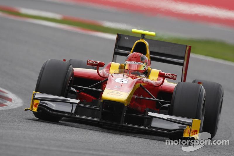 Postseason testing for Gianmarco Raimondo as he prepares for 2013