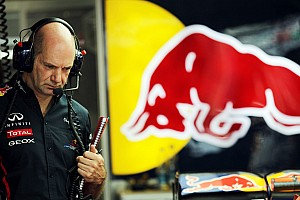 Formula 1 Commentary Newey 'a little late' with 2013 Red Bull
