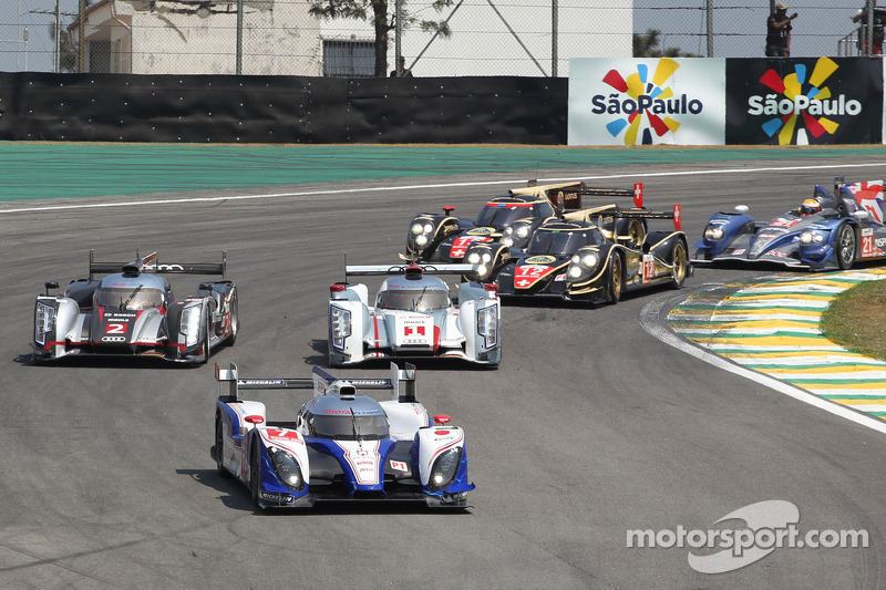 6 Hours of Sao Paulo moved to Sunday in 2013