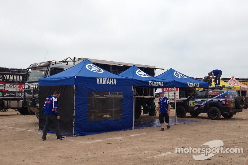Yamaha counts down to adventure for the 2013 Dakar Rally