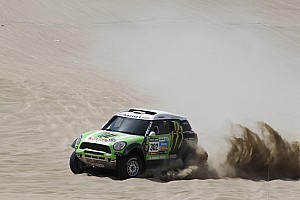 X-raid drivers completes short Peruvian stage one