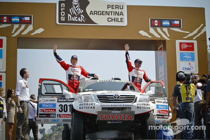 Team Toyota completes an easy stage 1 in Peru