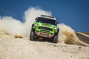 X-raid Team and Peterhansel defend overall lead in stage 3