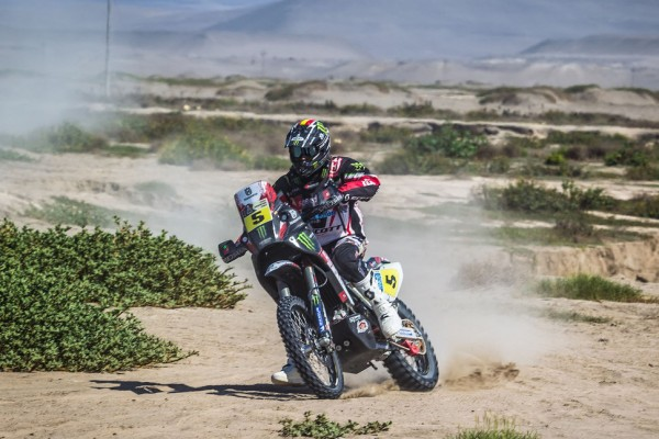 Al-Attiyah capitalizes on stage four attrition, Barreda makes gains