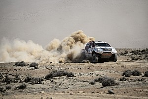 Dakar Stage report De Villiers and Toyota team fights back on stage 4