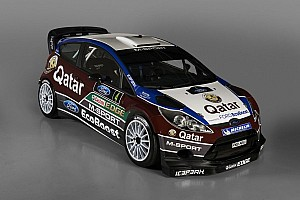 WRC Breaking news Qatar M-Sport team unveils new Ford Fiesta RS WRC